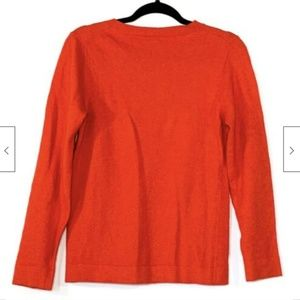 J. Crew Sweaters - J Crew Crewneck Teddie Wool Pullover Sweater Med